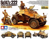 Tamiya Sd.Kfz.222 North Africa 1/35 Model Kit