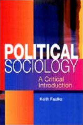 Political Sociology by Keith Faulks image