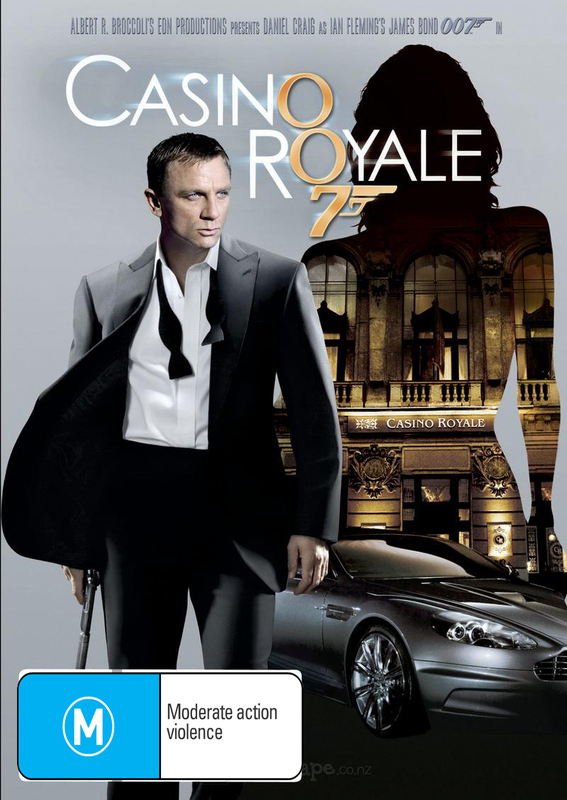 Casino Royale (2012 Version) on DVD