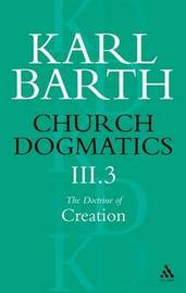 Church Dogmatics Classic Nip III.3 by Barth image