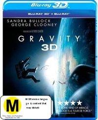 Gravity 3D on Blu-ray, 3D Blu-ray