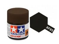 Tamiya Acrylic: Rubber Black (XF85)