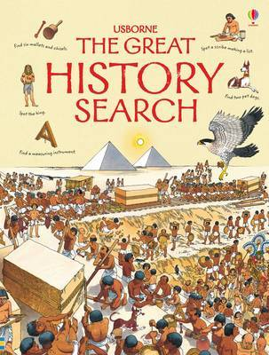 The Great History Search by Kamini Khanduri