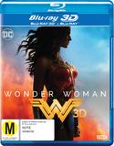 Wonder Woman (2017) on Blu-ray, 3D Blu-ray