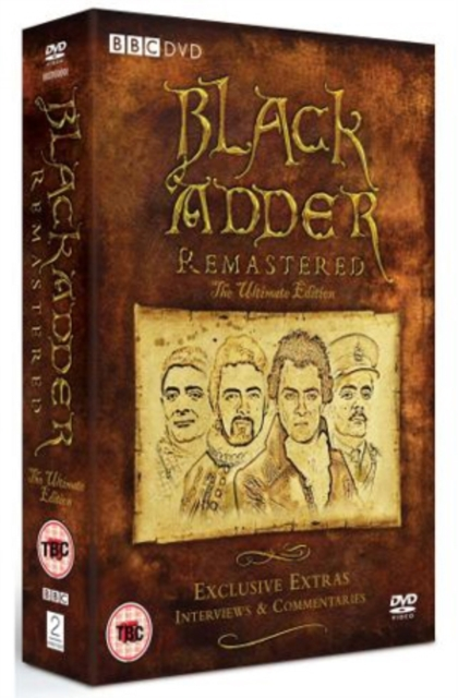 Blackadder Remastered The Ultimate Edition on DVD