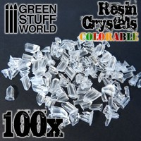 Green Stuff World: Resin Crystals Transparent Colorables