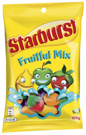 Starburst Fruitful Mix (180g)