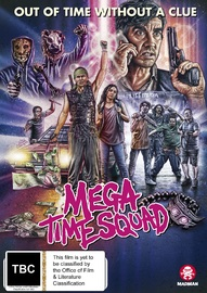 Mega Time Squad on DVD