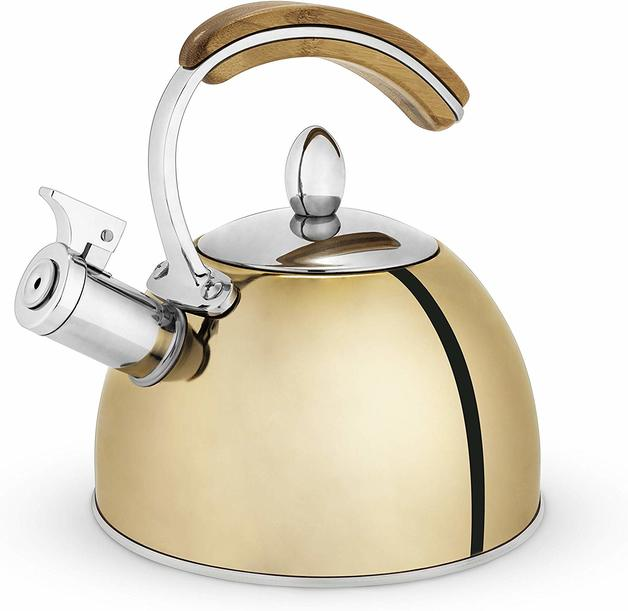 Pinky Up: Presley Tea Kettle - (Gold)