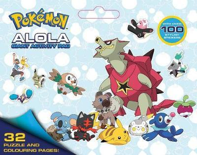 Pokemon: Alola Giant Activity Pad image