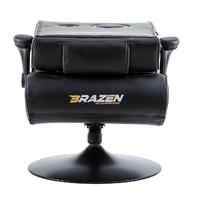 BraZen Panther Elite 2.1 Bluetooth Surround Sound Gaming Chair (Blue) for