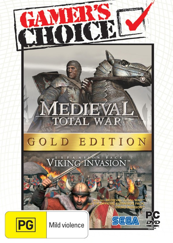 Medieval: Total War Gold Edition (Gamer's Choice) for PC Games