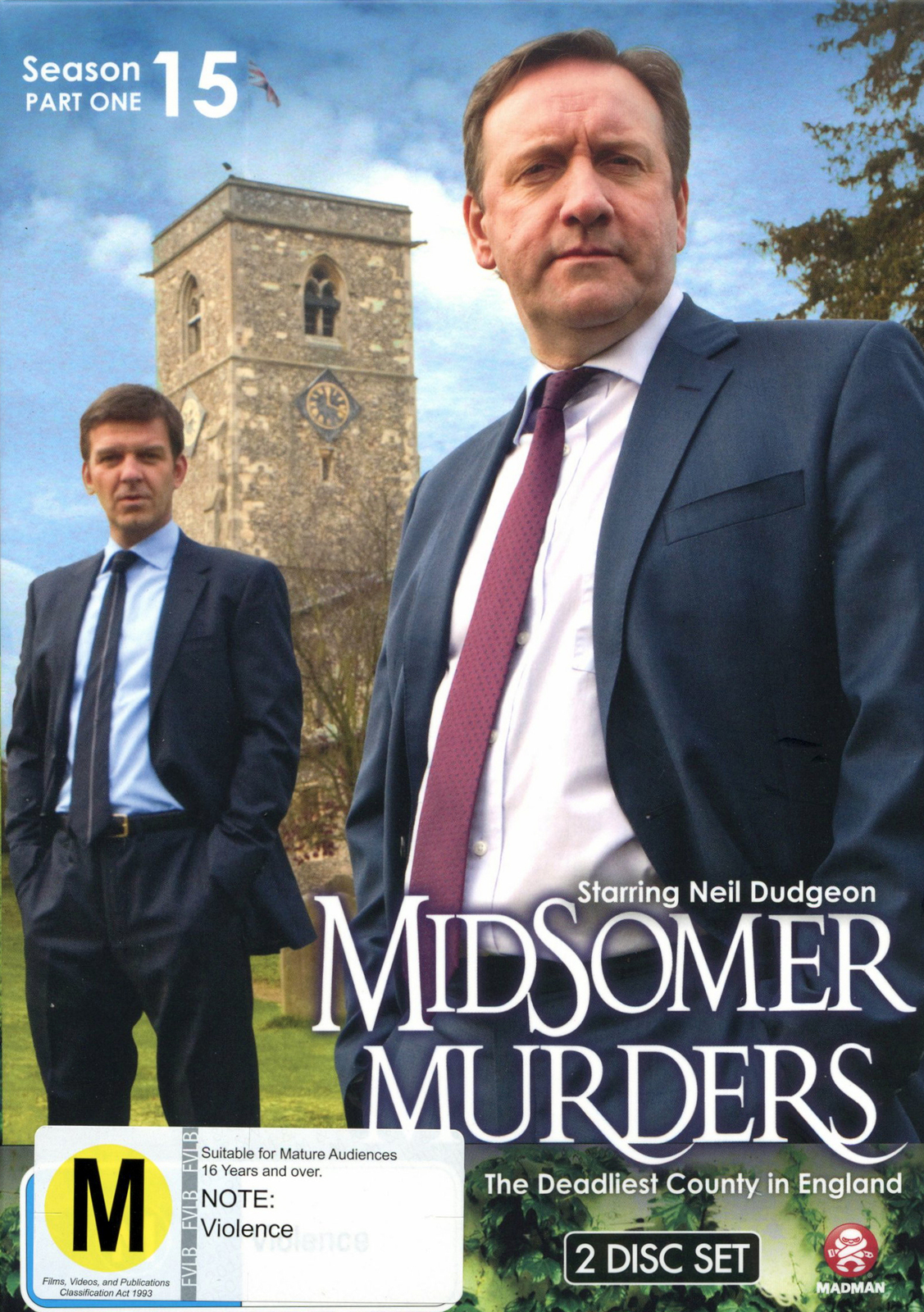 Midsomer Murders - Season 15 Part 1 on DVD image