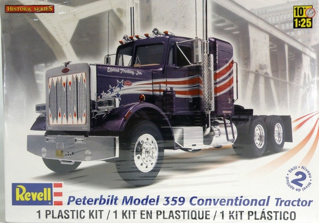 125 peterbilt conventional model kit at mighty ape nz revell 125 peterbilt conventional model kit publicscrutiny Images