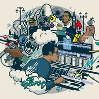 """Grime and Funk EP (12"""") by Swindle"""
