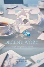 Decent Work: Concept, Theory and Measurement by Nausheen Nizami image
