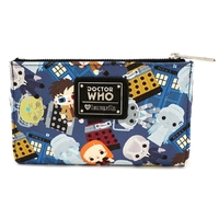 Loungefly: Doctor Who - Chibi Print Wallet