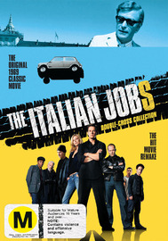 The Italian Jobs: Double-Cross Collection on DVD