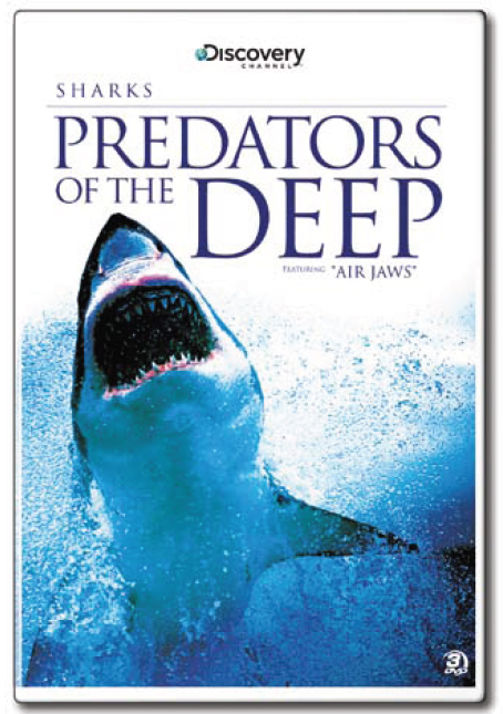 Sharks: Predators of the Deep (3 Disc Set) on DVD image