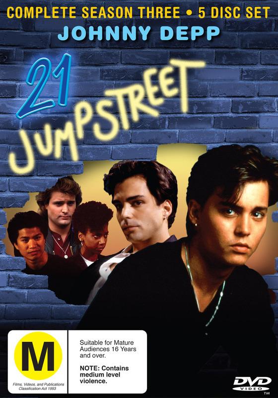 21 Jump Street - Complete Season 3 (5 Disc Set) on DVD