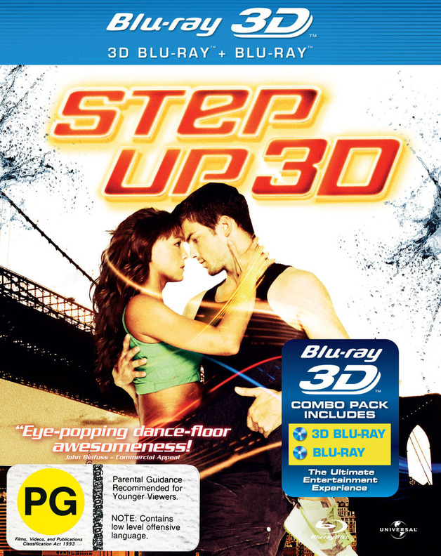 Step Up 3: 3D Combo Pack (Includes 2D version) on Blu-ray