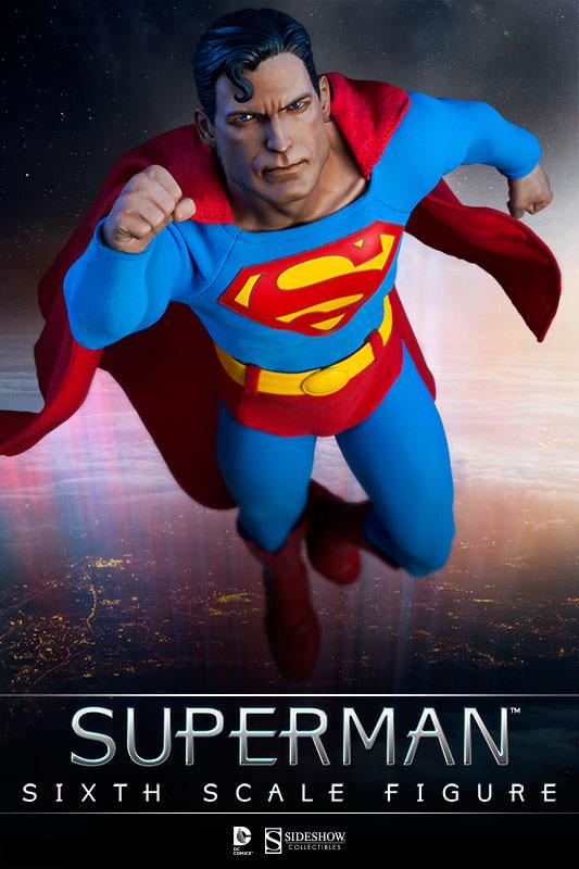 "Superman Comic Style 12"" Action Figure"