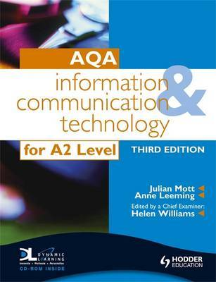 AQA Information and Communication Technology for A2 by Julian Mott image