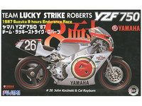 Fujimi: 1/12 Yamaha YZF750 (Lucky Strike Roberts) - Model Kit