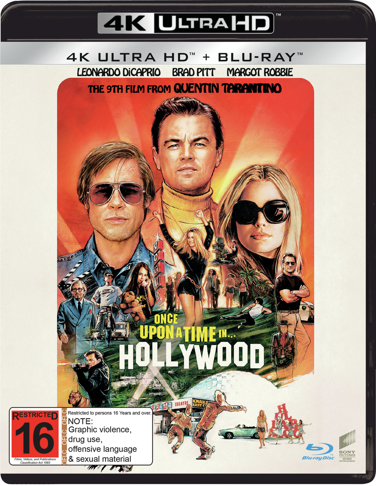 Once Upon a Time in Hollywood (4K UHD + Blu-ray) on UHD Blu-ray image