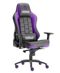 Gorilla Gaming Alpha Prime Chair - Black & Purple for