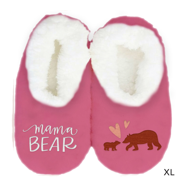 Sploshies: Mother's Day Duo Slippers - Bear (X-Large)