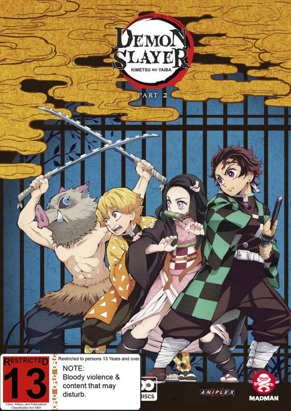 Demon Slayer: Kimetsu No Yaiba: Part 2 (Eps 14-26) on DVD