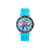 Time Teachers: Educational Analogue Watch - Super Mario Blue/Black