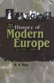 History of Modern Europe: AD1789-2002 by B.V. Rao image