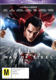 Man of Steel on DVD