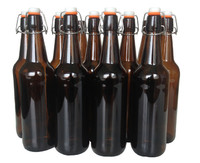 Mangrove Jack's: Flip-Top Bottle - Amber (12 x 750ml)