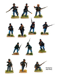 American Civil War Union Infantry 1861-65 image