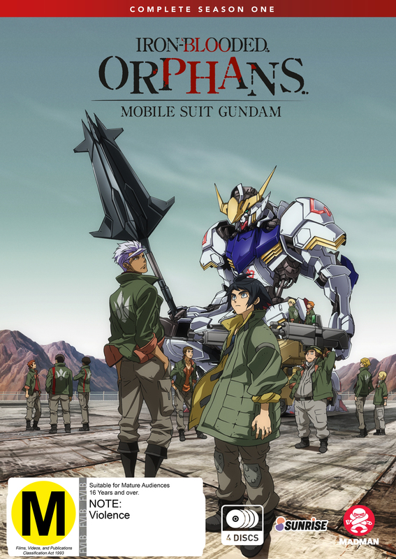 Mobile Suit Gundam: Iron-blooded Orphans Complete - Season 1 on DVD
