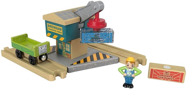Thomas & Friends: Wooden Railway - Spin & Lift Crane