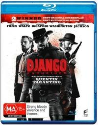 Django Unchained on Blu-ray