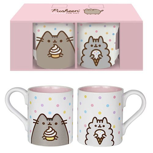 Pusheen the Cat and Stormy the Cat Mug Set