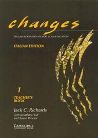 Changes 1 Teacher's book Italian edition: English for International Communication by Gabriela Bruner image