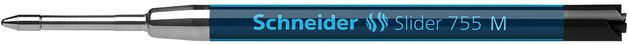 Schneider: Slider 755 Ballpoint Refill - Black (M)