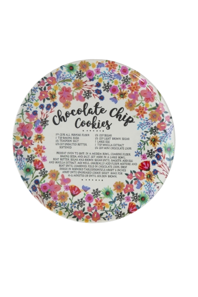 Natural Life: Giving Plate - Chocolate Chip Cookie