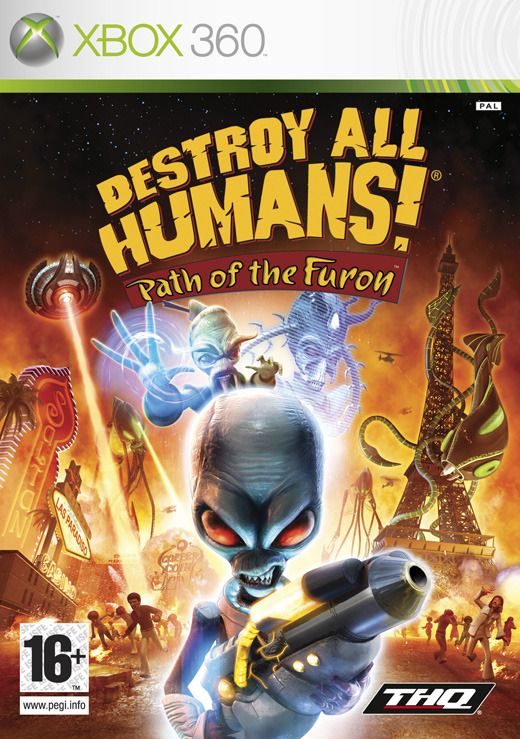 Destroy All Humans! Path of the Furon for Xbox 360