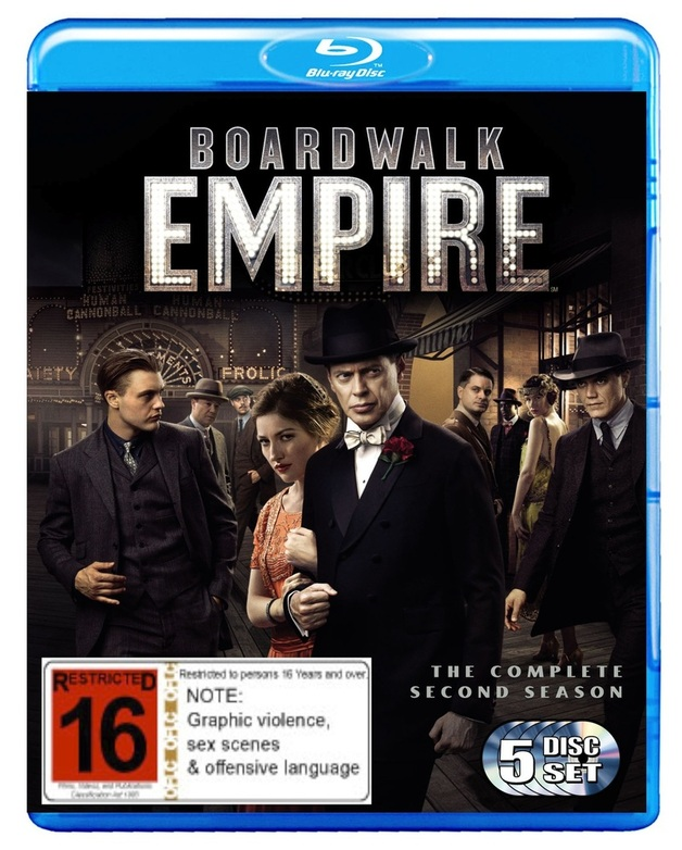 Boardwalk Empire - The Complete Second Season on Blu-ray