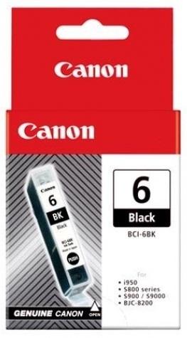 Canon Ink Cartridge - BCI6BK (Black)