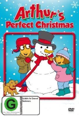 arthurs perfect christmas on dvd image - Arthur Perfect Christmas