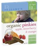 Bellamy's Organic Pinkies - Apple, Strawberry & Mango (90gm)