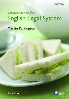 Introduction to the English Legal System by Martin Partington